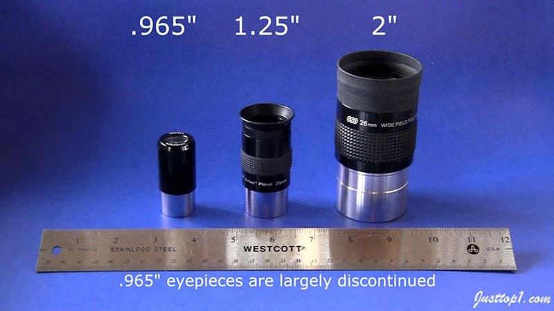 Types of Telescope Eyepieces